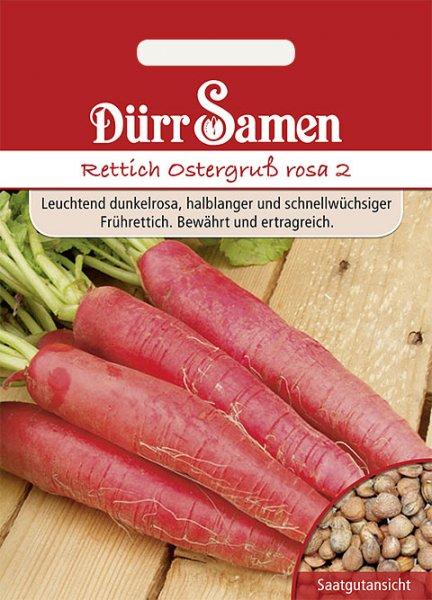 Rettich Ostergruß 5m Saatband