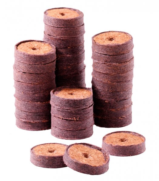Kokos-Quelltabletten 36mm 1500St. (lose)