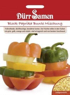 Blockpaprika Bunter Mix