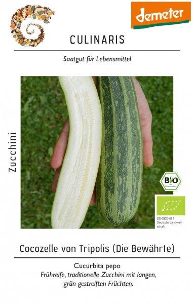 Bio-Zucchini Cocozelle von Tripolis