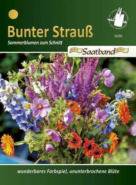 Sommerblumen zum Schnitt 2m Saatband