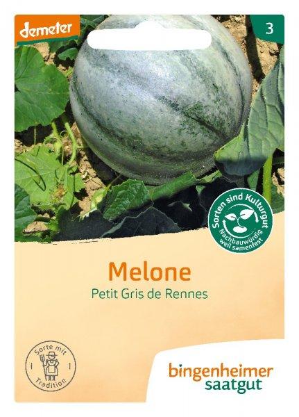 Bio-Melone Petit Gris de Rennes