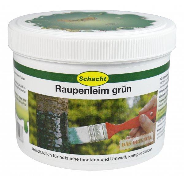 Raupenleim grün 500g