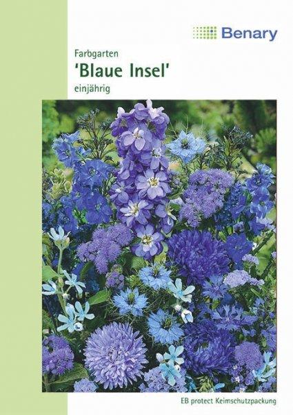 Farbgarten blau