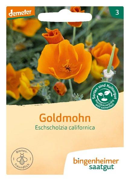 Bio-Goldmohn