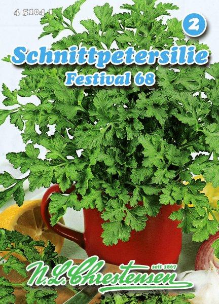 Schnittpetersilie Festival 68