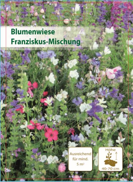 Blumenwiese Franziskusmix 300m²