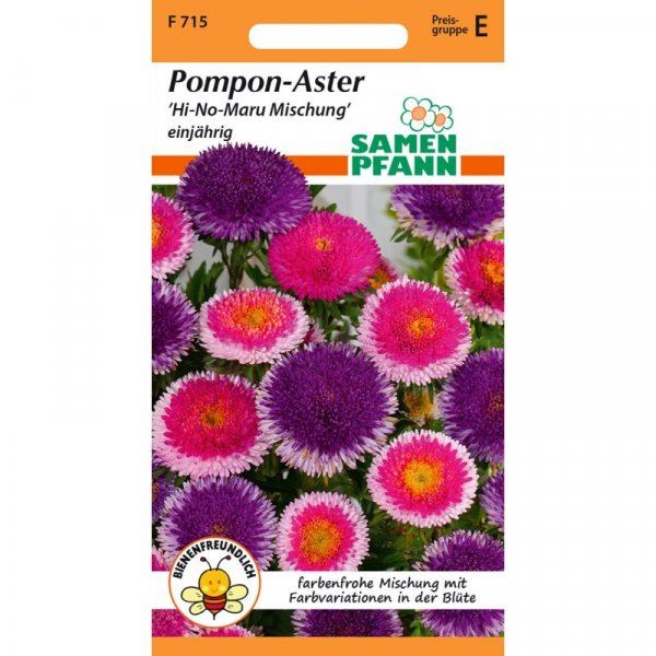 Aster Pompon Hi-No-Maru-Mix