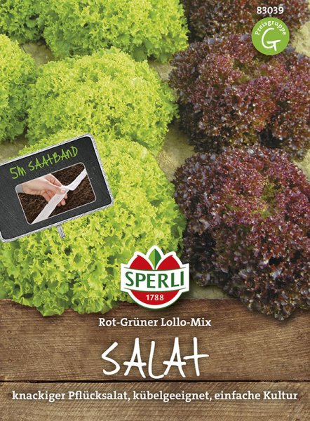 Salat Lollo Mix 5m Saatband