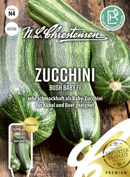 Zucchini Bush Baby F1
