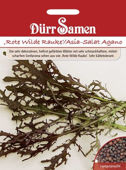 Rauke Rote Asia-Salat Agano