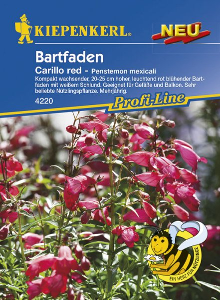 Bartfaden Carillo Red