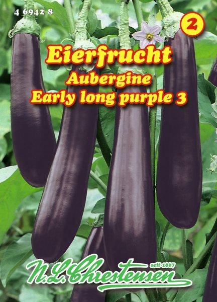 Aubergine Early long purple 3