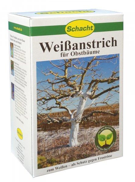 Weißanstrich für Obstbäume 1kg