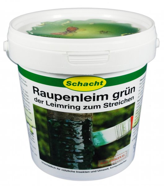 Raupenleim grün 1kg