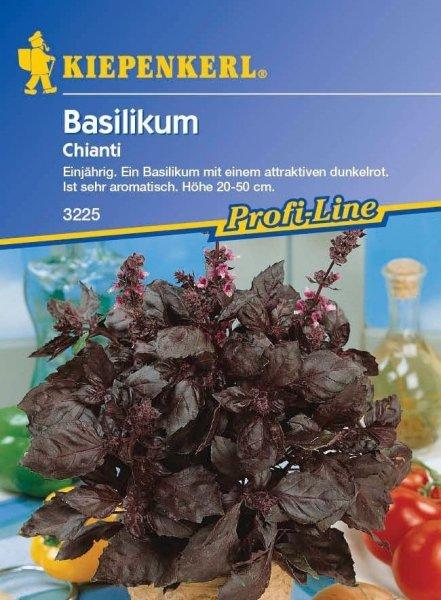 Basilikum Chianti rot