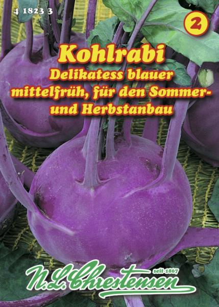 Kohlrabi Delikateß blauer