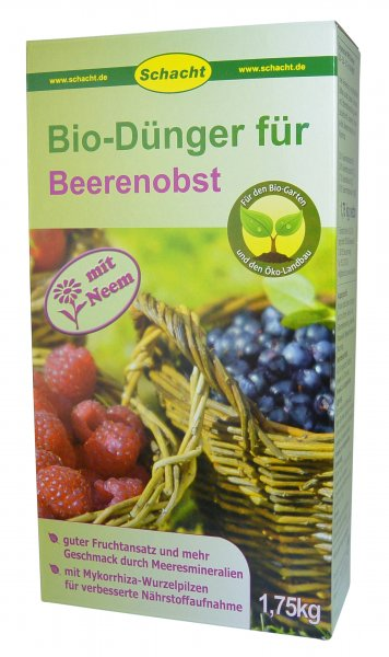 Bio-Dünger für Beerenobst 1,75 kg